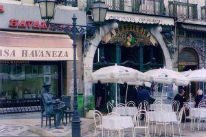 Café Brasileira, in Lisbon