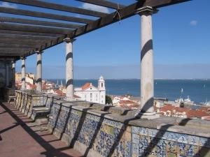 Miradouro Santa Luzia, in Lisbon