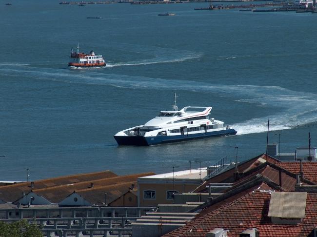 Transtejo Boat